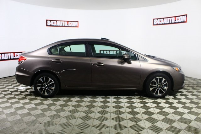 Certified Pre-Owned 2014 Honda Civic EX