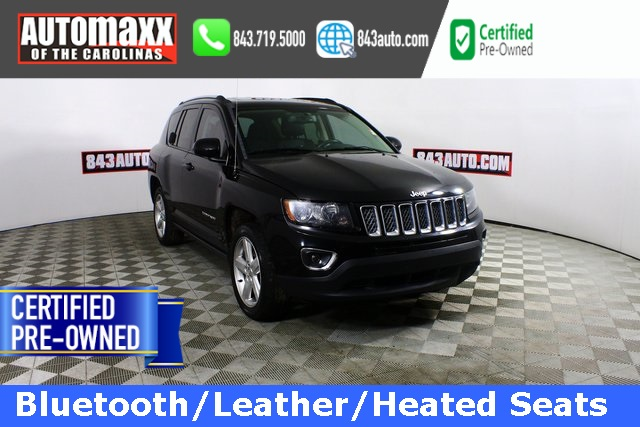 Certified Pre Owned 2014 Jeep Compass Latitude 4d Sport Utility In Summerville F10239t Automaxx Of The Carolinas