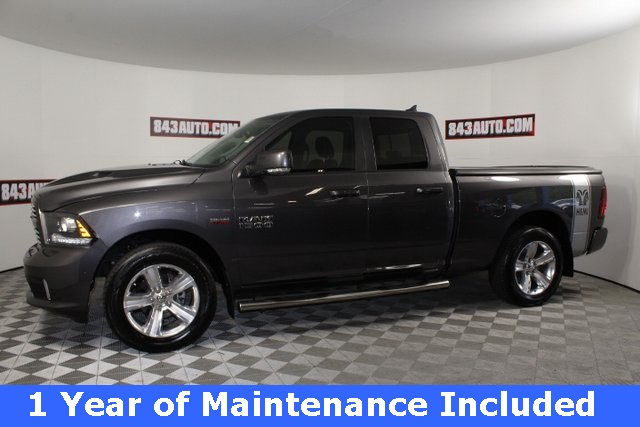 Certified Pre-Owned 2015 Ram 1500 Sport with NAV
