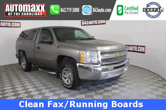 Certified Pre-Owned 2012 Chevrolet Silverado 1500 Work Truck