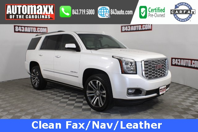 Certified Pre-Owned 2019 GMC Yukon Denali With Navigation & 4WD