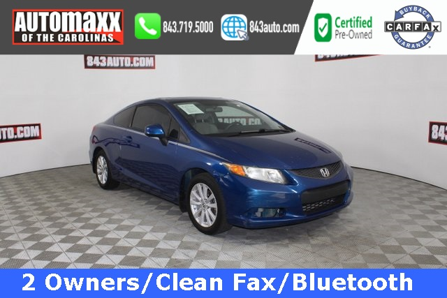 Certified Pre-Owned 2012 Honda Civic EX
