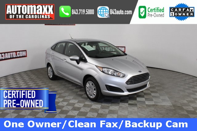 Certified Pre-Owned 2019 Ford Fiesta S