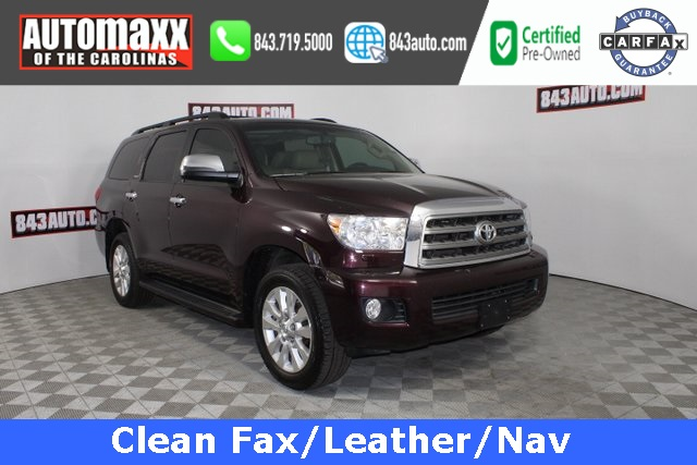 Certified Pre-Owned 2014 Toyota Sequoia Platinum