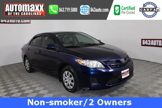 Certified Pre-Owned 2013 Toyota Corolla L
