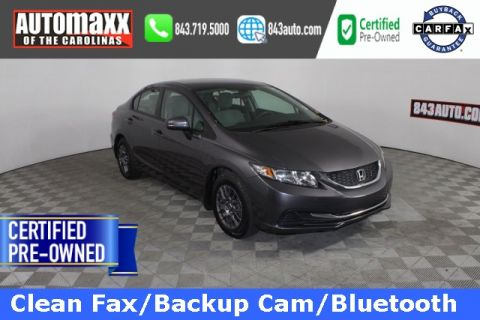 Certified Pre-Owned 2014 Honda Civic LX