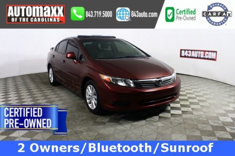 Certified Pre-Owned 2012 Honda Civic EX-L