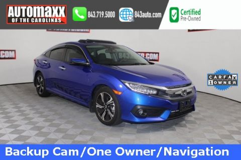 Certified Pre-Owned 2017 Honda Civic Touring With Navigation