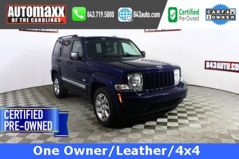 Certified Pre-Owned 2012 Jeep Liberty sport latitude
