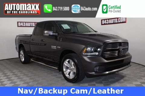 Certified Pre-Owned 2015 Ram 1500 Sport with NAV RWD 4D Crew Cab