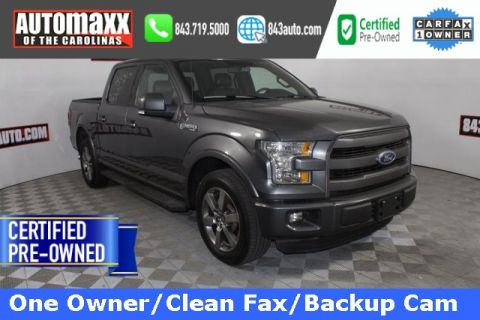 Certified Pre-Owned 2015 Ford F-150 Lariat Sport RWD 4D SuperCrew