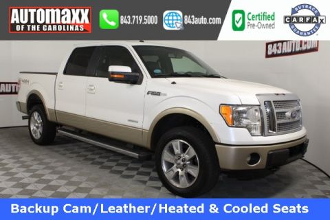 Certified Pre-Owned 2012 Ford F-150 Lariat 4x4 4WD