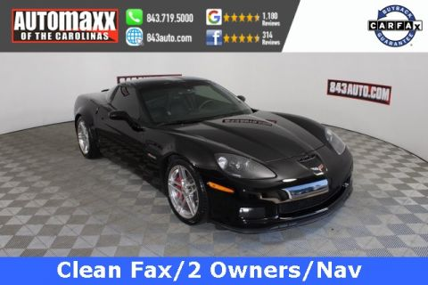 Pre-Owned 2007 Chevrolet Corvette Z06 RWD 2D Coupe