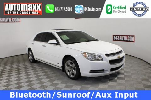 Certified Pre-Owned 2012 Chevrolet Malibu LT