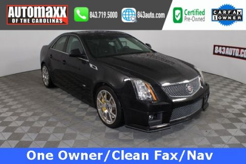 Certified Pre-Owned 2012 Cadillac CTS-V RWD 4D Sedan