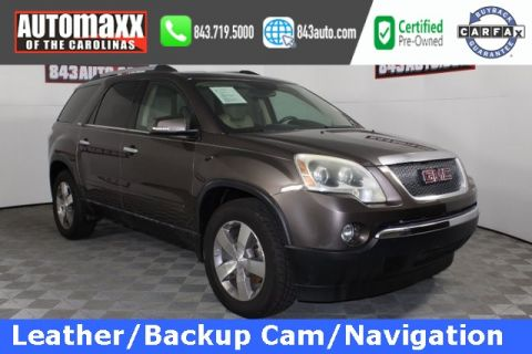 Certified Pre-Owned 2010 GMC Acadia SLT-1