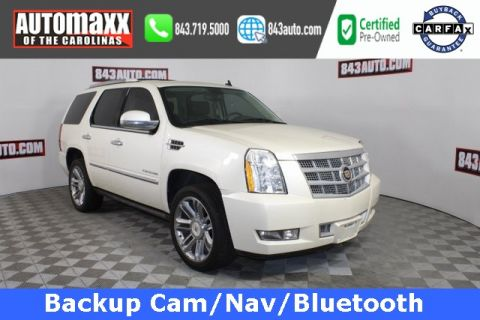 Certified Pre-Owned 2013 Cadillac Escalade Platinum Edition With Navigation