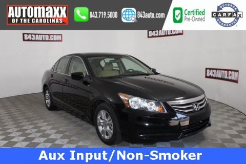 Certified Pre-Owned 2012 Honda Accord LX-P