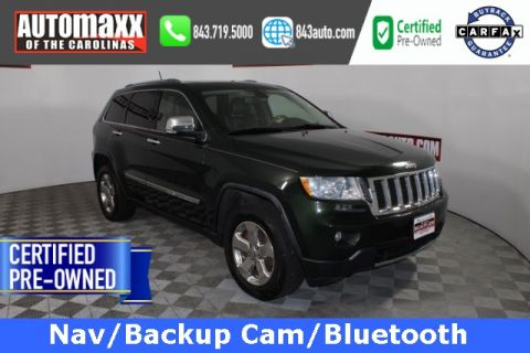 Certified Pre-Owned 2011 Jeep Grand Cherokee Overland