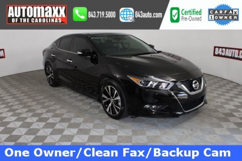 Certified Pre-Owned 2018 Nissan Maxima 3.5 SL With Navigation