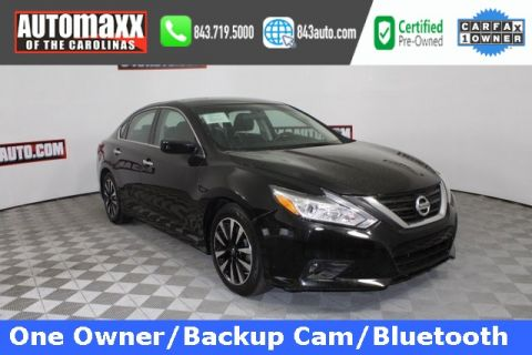 Certified Pre-Owned 2018 Nissan Altima 2.5 SV FWD 4D Sedan