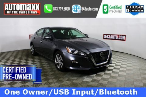 Certified Pre-Owned 2020 Nissan Altima 2.5 S FWD 4D Sedan