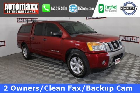 Certified Pre-Owned 2013 Nissan Titan SV