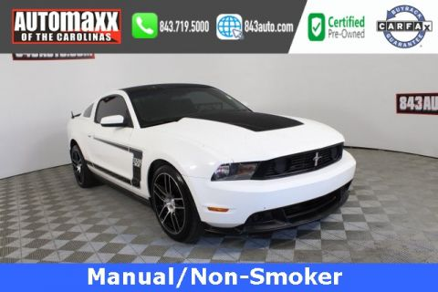 Certified Pre-Owned 2012 Ford Mustang Boss 302 RWD 2D Coupe