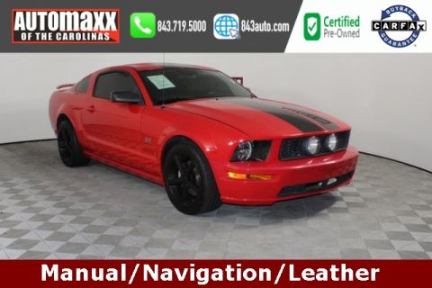 Pre-Owned 2008 Ford Mustang GT Premium RWD 2D Coupe