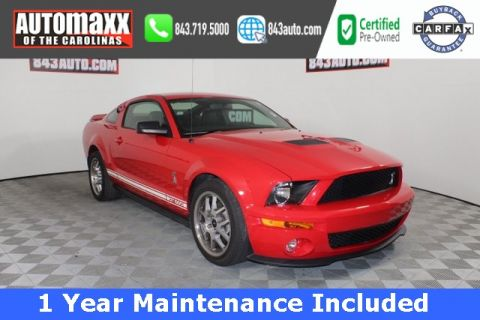 Pre-Owned 2007 Ford Mustang Shelby GT500 RWD 2D Coupe