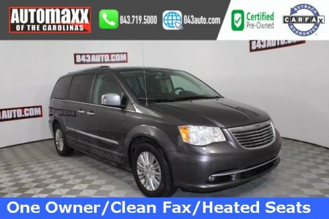 Certified Pre-Owned 2016 Chrysler Town & Country Limited With Navigation