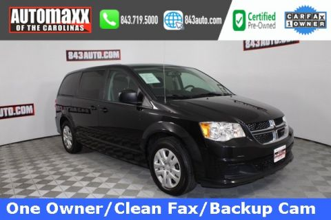 Certified Pre-Owned 2017 Dodge Grand Caravan SE FWD 4D Passenger Van