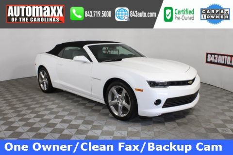 Certified Pre-Owned 2014 Chevrolet Camaro 1LT