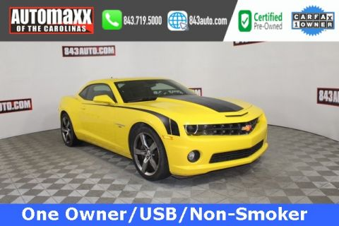 Certified Pre-Owned 2011 Chevrolet Camaro SS