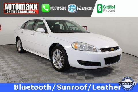Certified Pre-Owned 2013 Chevrolet Impala LTZ FWD 4D Sedan