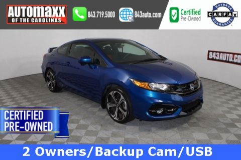 Certified Pre-Owned 2014 Honda Civic Si FWD 2D Coupe