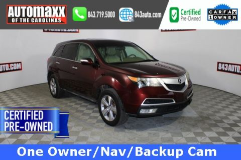 Certified Pre-Owned 2012 Acura MDX Technology