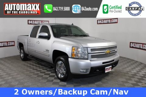 Certified Pre-Owned 2013 Chevrolet Silverado 1500 LTZ