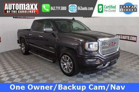 Certified Pre-Owned 2016 GMC Sierra 1500 Denali With Navigation