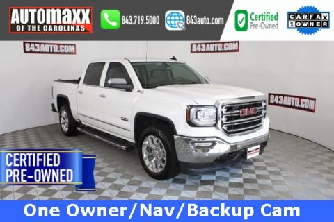 Certified Pre-Owned 2017 GMC Sierra 1500 SLT 4WD
