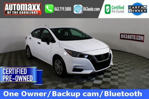 Certified Pre-Owned 2020 Nissan Versa 1.6 S