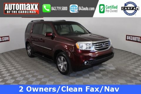 Certified Pre-Owned 2012 Honda Pilot Touring