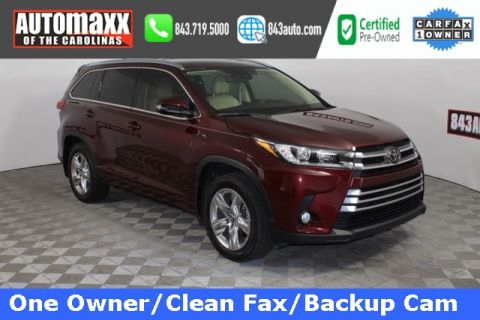 Certified Pre-Owned 2017 Toyota Highlander Limited Platinum With Navigation & AWD