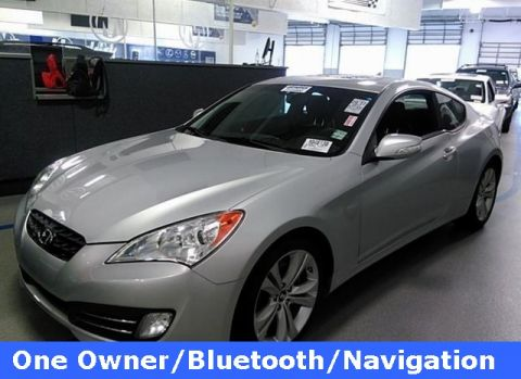 Certified Pre-Owned 2011 Hyundai Genesis Coupe 3.8 Grand Touring
